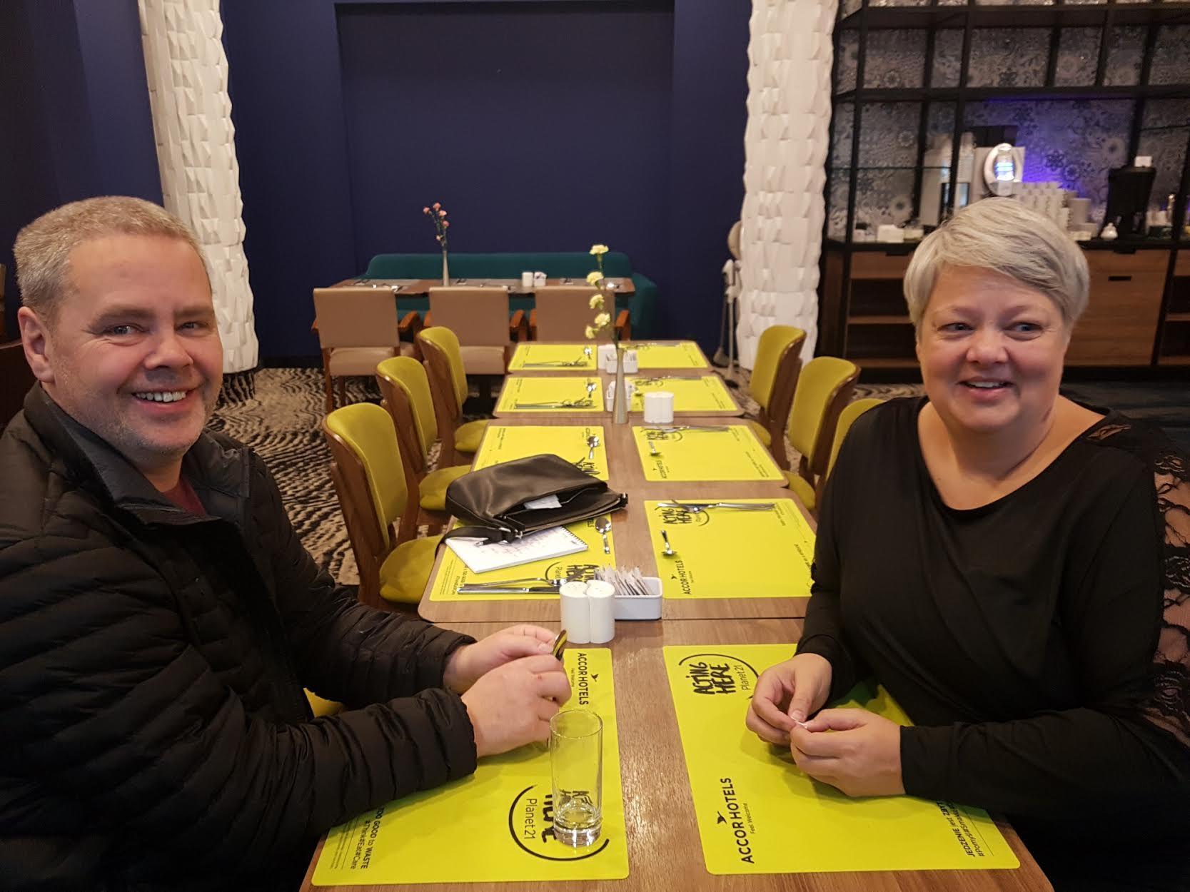 Hjálmar Heimisson og Kristín Hanna Hauksdóttir