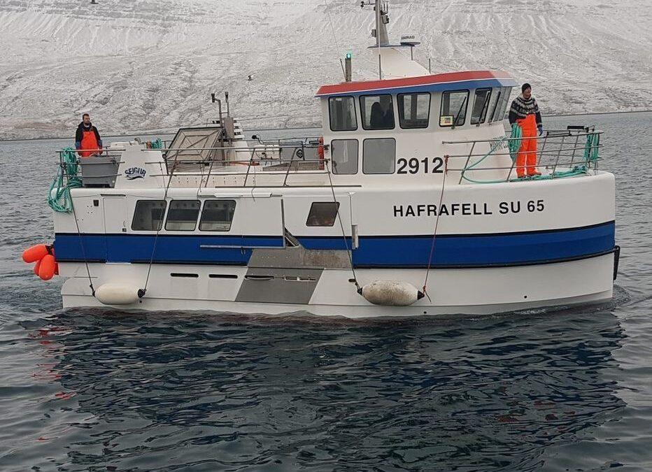 Hafrafell og Sandfell með mestan afla í júlí